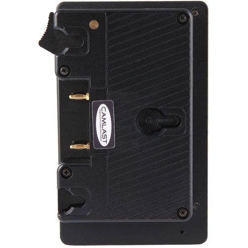 CAMLAST V-Mount Plate to Gold Mount Battery Adapter with D-Tap