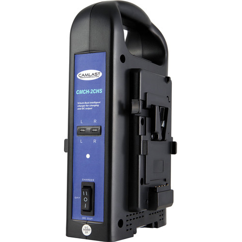CAMLAST Charger for Two V-Mount Batteries