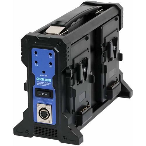CAMLAST Charger for Four V-Mount Batteries