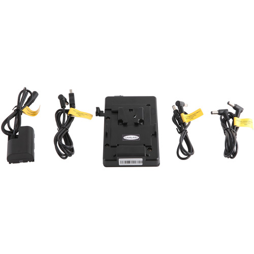 CAMLAST V-Mount Dummy Battery Adapter Kit with USB for Canon 5D/7D