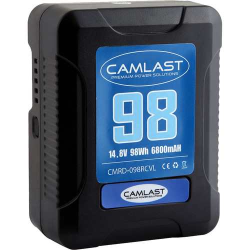 CAMLAST Compact-Series 98Wh 14.8V Li-Ion V-Mount Battery (RED)