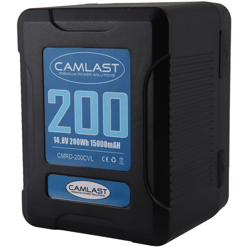 CAMLAST Compact-Series 200Wh 14.8V Li-Ion V-Mount Battery