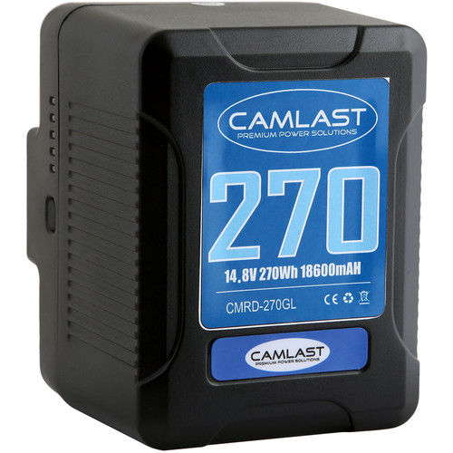 CAMLAST Compact-Series 270Wh 14.8V Li-Ion Gold Mount Battery