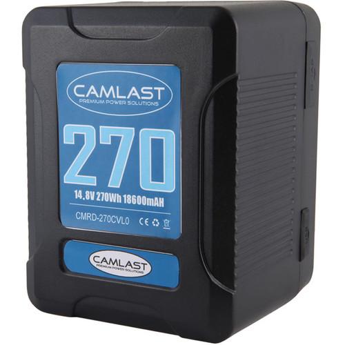 CAMLAST Compact-Series 270Wh 14.8V Li-Ion V-Mount Battery
