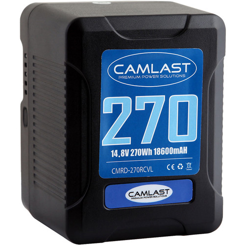 CAMLAST Compact-Series 270Wh 14.8V Li-Ion V-Mount Battery (RED)