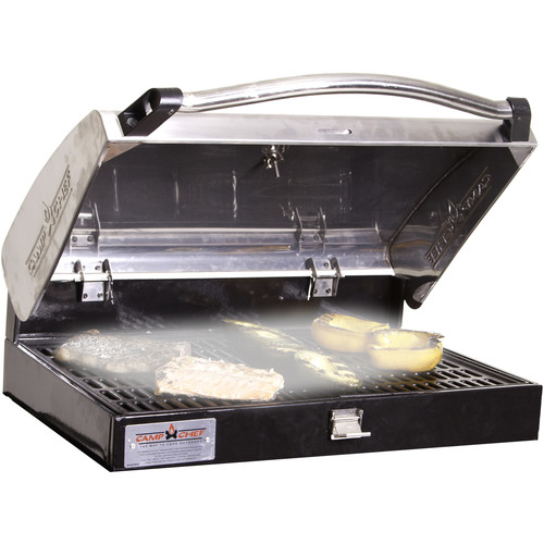 Camp Chef Deluxe Stainless BBQ Grill Box 90