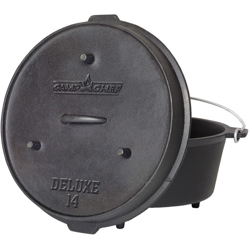 "Camp Chef 14"" Cast Iron Deluxe Dutch Oven"