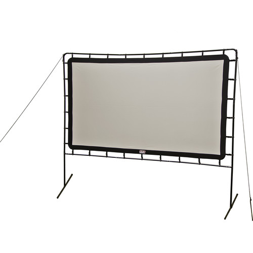 "Camp Chef Backyard Big Screen Curved 120"" Folding Projection Screen"