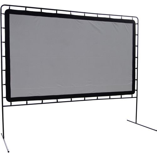 "Camp Chef Backyard Big Screen 144"" Folding Projection Screen"