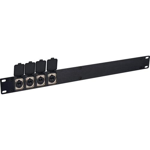 Camplex 1RU 4-Ch OpticalCON Interface to LC Fiber Converter