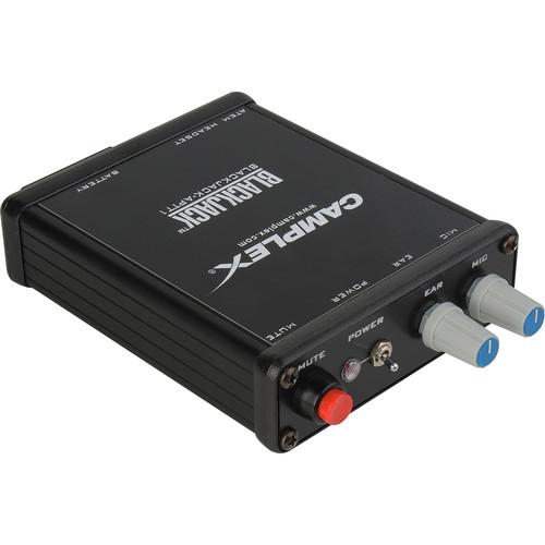 Camplex Push-to-Talk Belt-Clip Active Headset Adapter for Blackmagic ATEM Camera Converter (4-Pin XLR, Female)