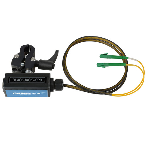 Camplex opticalCON DUO to Duplex LC/APC Breakout Adapter (Singlemode with Clamp)