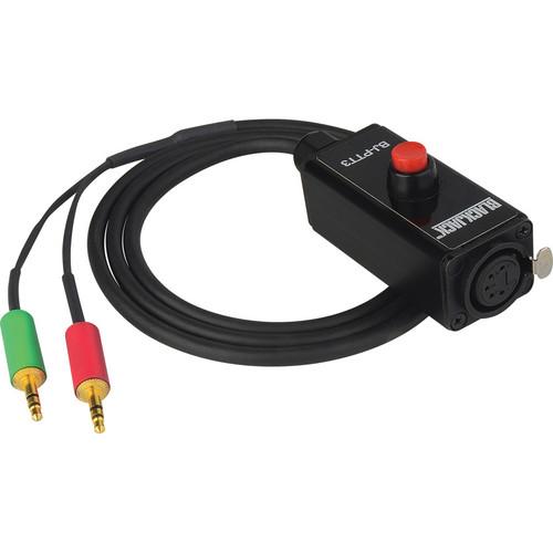 Camplex Headset PTT Belt Clip Remote for ATEM Converter (4-Pin Male XLR)