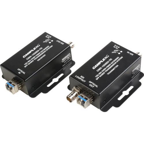 Camplex 12G SDI Over Singlemode Fiber Extender SFP-Based Transmission System