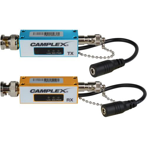 Camplex 3G/HD/SD SDI over Singlemode Fiber Extender