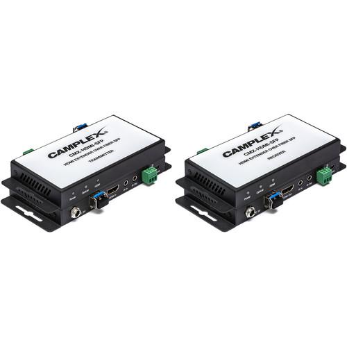 Camplex Single-Fiber SFP HDMI 2.0 Extender