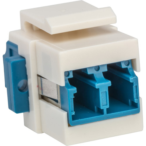 Camplex LC to LC Keystone Coupler (Blue & White)