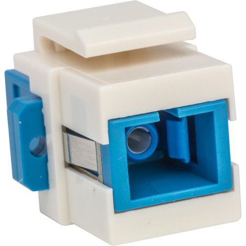 Camplex SC to SC Keystone Coupler (Blue & White)