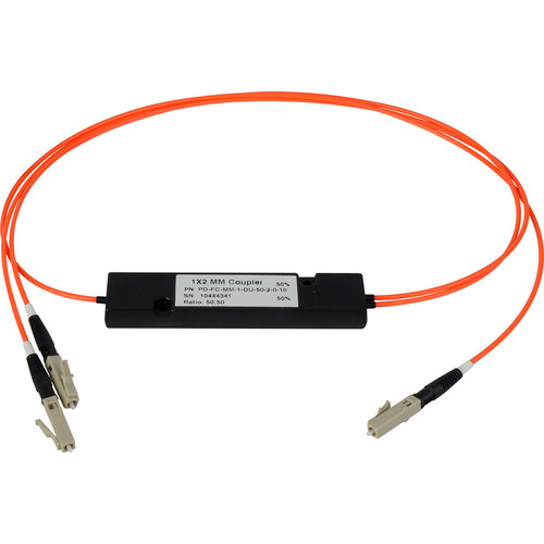 Camplex Multimode LC Fiber Optic 1x2 Splitter Cable (3')