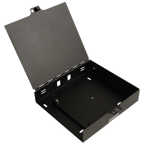Camplex Steel Wall Mount Enclosure with Hinged Door for 1 Fiber Adapter Plate Module and 24 Fibers