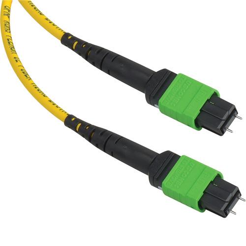 Camplex MTP Elite APC Male 12-Fiber Single-Mode OFNP Round-Jacket Cable (6')
