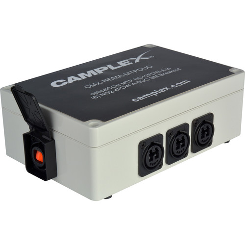 Camplex OpticalCON MTP NO12FDW-A 12-Channel to NO2-4FDW-1-A 6 Single Mode DUO Breakout Box