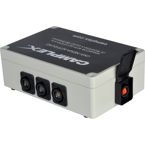 Camplex OpticalCON MTP NO12FDW-A 12-Channel to 3 Single Mode QUAD NO4FDW-A Breakout Box
