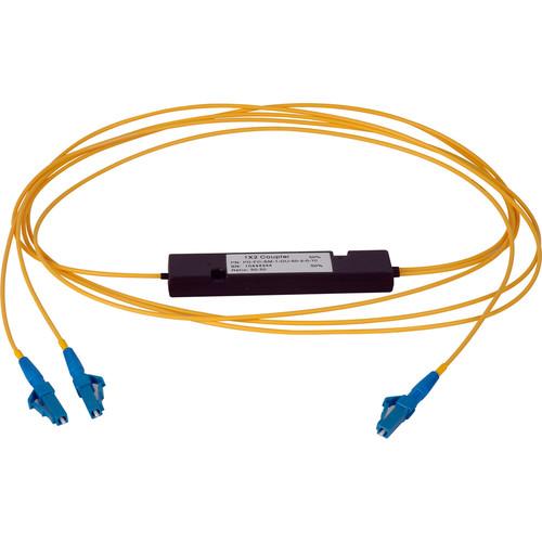 Camplex Singlemode LC Fiber Optic 1x2 Splitter Cable (1')