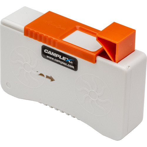 Camplex Dry Tape Cleaner for Fiber Optic Connectors (White)