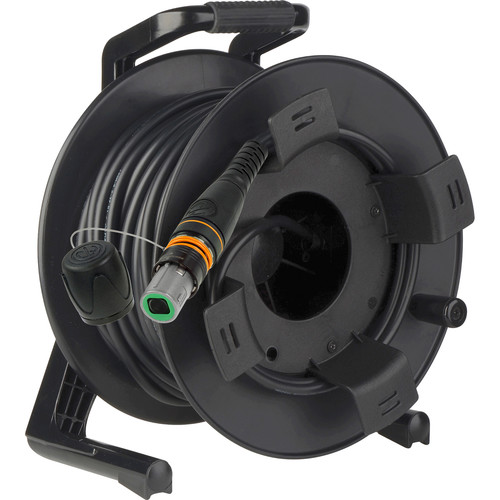 Camplex opticalCON MTP/MTP Single-Mode 12-Fiber Field Cable with GT380 Reel (492')