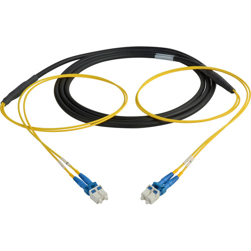Camplex Two-Channel LC Single-Mode Fiber Optic Tactical Snake (10')