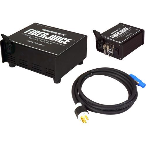 Camplex FIBERJ-1P FiberJuice Single-Channel opticalCON Fiber Power Supply & Camera Pack