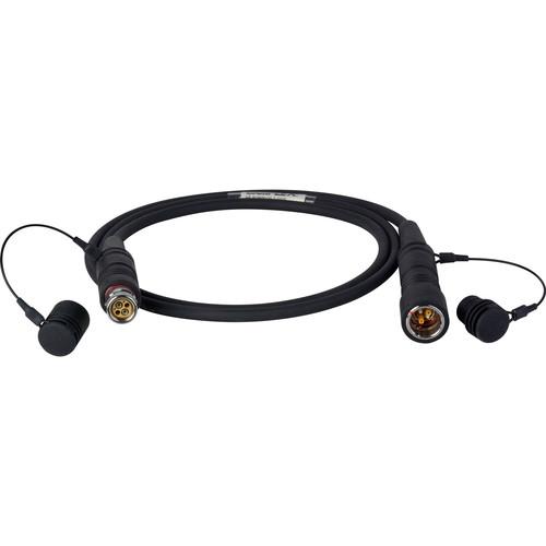 Camplex LEMO FUW-PUW 7.8mm Bend Insensitive SMPTE 311 Fiber Cable (10')