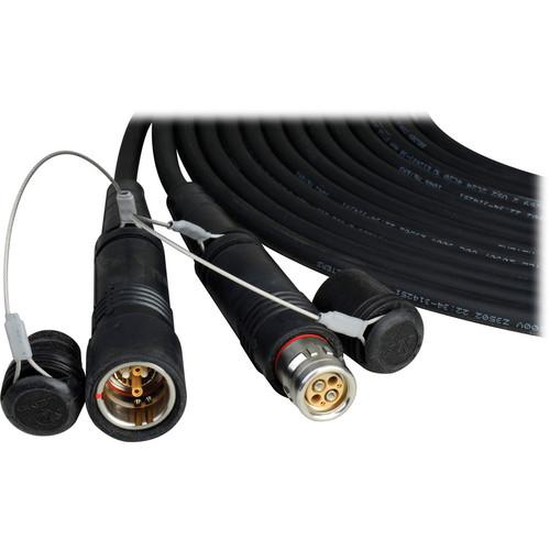 Camplex SMPTE Hybrid FUW/PUW LEMO Furukawa Outdoor Fiber Cable (10 ft)