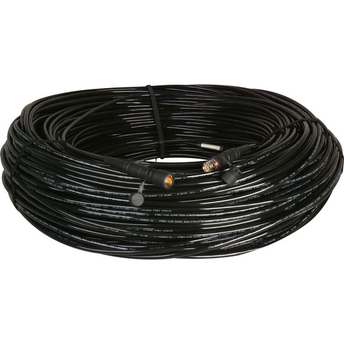 Camplex LEMO FUW-PUW Camera Cable with Hitachi Bend Insensitive Outside Broadcast SMPTE Fiber (750')