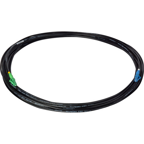Camplex TAC1 Simplex Singlemode APC LC to UPC LC Fiber Optic Tactical Cable (100')