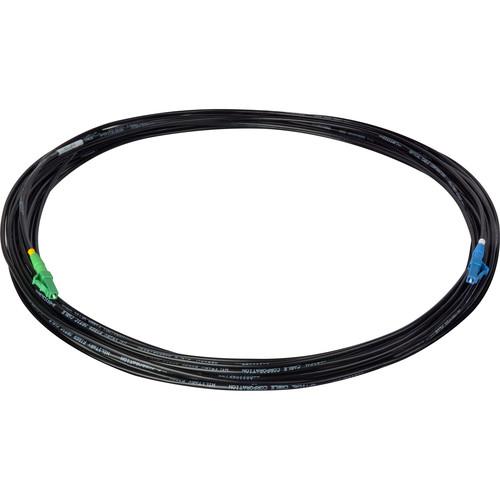 Camplex TAC1 Simplex Singlemode APC LC to UPC LC Fiber Optic Tactical Cable (250')
