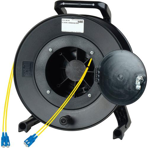 Camplex 2-Ch Singlemode Tactical Fiber SC Snake Cable Reel (500')