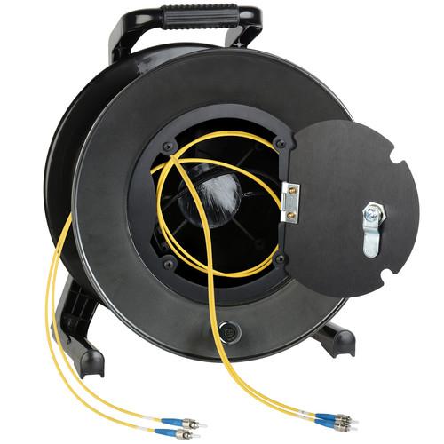 Camplex Duplex ST Single-Mode Fiber Optic Tactical Snake Reel (150')