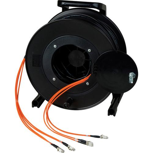 Camplex OM1 2-Ch Multimode Tactical Fiber ST Snake Cable Reel (1500')