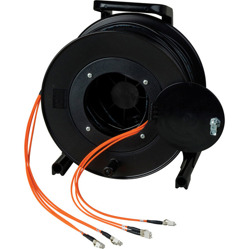 Camplex OM1 12-Ch Multimode Tactical Fiber LC Snake Cable Reel (2000')