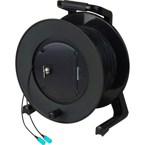 Camplex TAC1 Simplex 1-Ch OM3 Multi-Mode SC Fiber Optic Tactical Cable Reel (500')