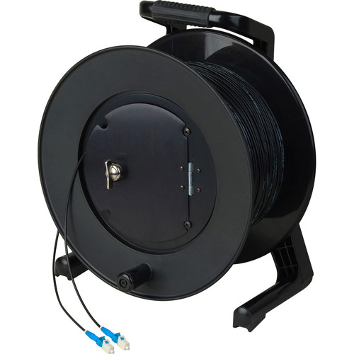 Camplex TAC1 Simplex Single-Mode LC Fiber Optic Tactical Cable Reel (500')