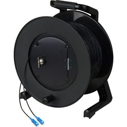 Camplex Simplex Single-Mode SC Fiber Optic Tactical Cable Reel (1000')