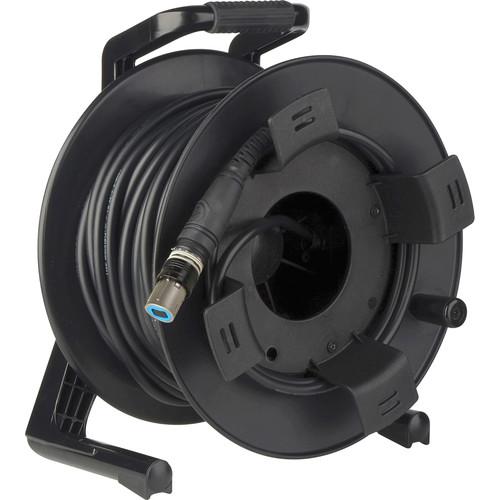 Camplex OpticalCON QUAD SM XTREME Fiber TAC Tactical Cable Reel (100')