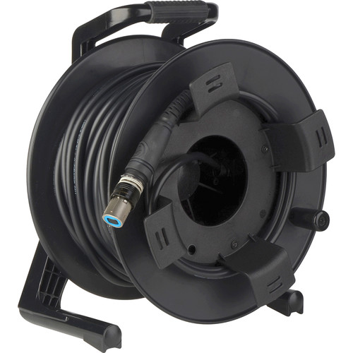 Camplex OpticalCON QUAD SM XTREME Fiber TAC Tactical Cable Reel (250')