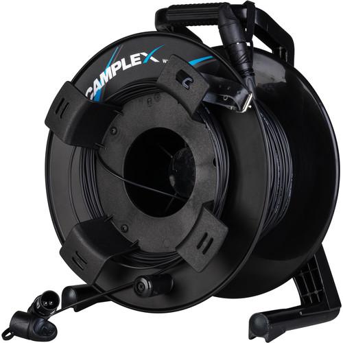 Camplex opticalCON LITE DUO Multimode Fiber Optic Tactical Cable Reel (2000')