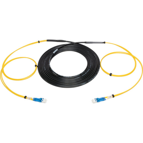 Camplex 2-Channel LC Single-Mode Fiber Optical Tactical Snake (3')