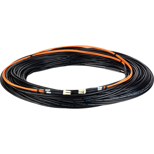 Camplex Two-Channel LC Multimode OM1 Fiber Optic Snake (250')