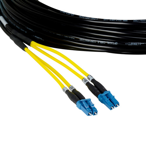 Camplex Four-Channel LC Single-Mode Fiber Tactical Snake Cable (25')